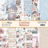 ScrapBoys- COTTON WINTER 15x15 zestaw