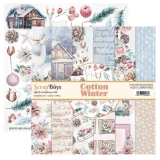 ScrapBoys- COTTON WINTER 30x30 zestaw