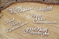 Fisrt Holy Communion set of word- zestaw ENG