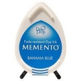 Tusz do stempli Memento Dew drops BAHAMA BLUE 16