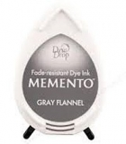 Tusz do stempli Memento Dew drops GRAY FLANNEL 36