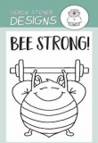 Stempel- Bee Strong 2x3